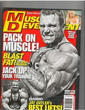 MUSCULAR DEVELOPMENT bodybuilder magazine/Seth Feroce+Jessica Putnam 11-10