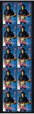 Stevie Ray Vaughan Blues Guitar Strip Of Mint Vignette Stamps 2