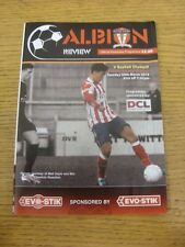 24/03/2015 Witton Albion v Rushall Olympic [Programme Dated: 28/12/2014, With 4