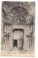 cathédrale de laon  portail latéral droit