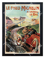 Historic Michelin Tires, 1905 Advertising Postcard #2
