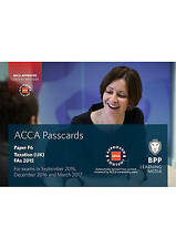 ACCA F6 Taxation FA2015: Passcards, Good Condition Book, BPP Learning Media, ISB