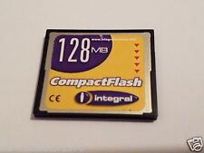 INTEGRAL 128mb CompactFlash Card  CF CARD