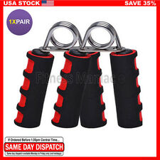2X Exercise Foam Hand Grippers Forearm Grip Strengthener Grips Exerciser Heavy