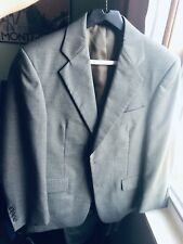 Kilburne and Finch Mens Suit 36S 30W Olive Green