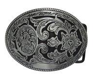 Boucle de ceinture décoration floral style western country music, cow-boy.