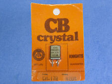 Vintage Knight Cb Radio Crystal Channel 17 Receive