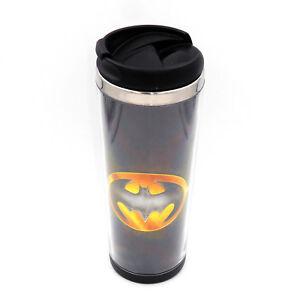 New Batman Badge Mug Creative Travel Coffee Water Tea Cup for Cars Adults 400ML