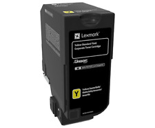 original Lexmark 74c2hye 74c2hy0 amarillo para cx725de / dhe NUEVO C