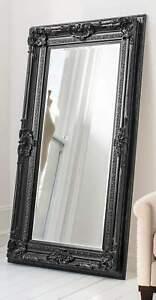 Veronica Leaner Mirror Black