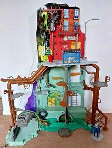 Teenage Mutant Ninja Turtles, Secret Sewer Lair Playset, 99% complete, 2012 TMNT