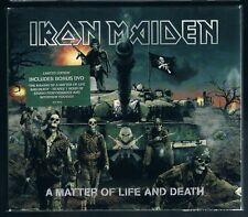 IRON MAIDEN A MATTER OF LIFE AND DEATH CD + BONUS DVD F.C.