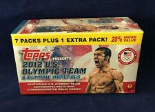 2012 Topps U.S. Olympic Team & Olympic Hopefuls Sealed Retail Box Autos