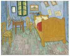 MODERN ART PRINT - The Bedroom, 1889 by Vincent van Gogh Poster 11x14