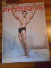 THE YOUNG PHYSIQUE bodybuilding muscle magazine/GENE SHUEY 4-61