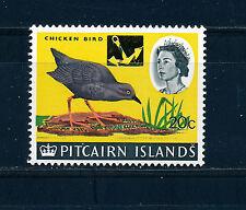 PITCAIRN ISLANDS 1967 DEFINITIVES SG77 20c on 1s. (BIRD)  MNH
