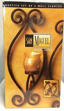 San Miguel Candle Holder Brown Lantern Metal