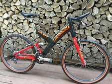NOS Cannondale Super V Raven 2000 M Worldwide Express XTR fantastisch!
