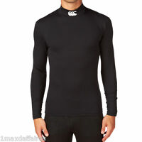 CANTERBURY Cold Turtle Long Sleeve Top Baselayer Compression Tee Shirt Maillot