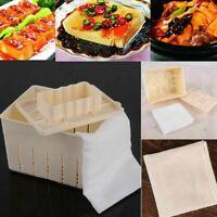 Tofu Box Mould DIY Plastic Homemade Maker Press Mold Kit Soy Pressing Mould