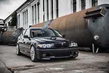 schwarz glänzende Nieren 3er BMW E46 Limousine FL Grill M3 Look Salberk 4602