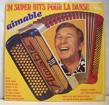 1 x 33 RPM Aimable Discs LP 12 Super Hits for Danse Musette Honda Vogue 71