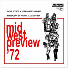 1972 Midwest Preview - Volume 2 Drum Corps CD