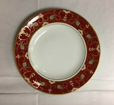 "ROYAL CROWN DERBY ""CLOISONNE"" ACCENT SALAD PLATE 8 1/2""  BONE CHINA ENGLAND NEW"