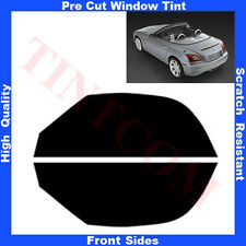 Pre Cut Window Tint Chrysler Crossfire 2D Cabrio 2004-2008 Front Sides Any Shade