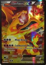POKEMON CARD XY GENERATIONS CHARIZARD EX XY121 JUMBO PROMO RARE SHINY TCG NEW