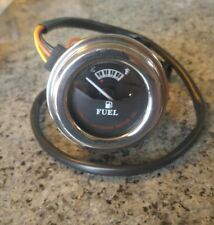 A2A P/N 75251-05 Harley Davidson Fuel Gauge, Tank Mounted, Chrome