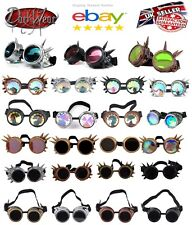 WELDING CYBER GOGGLES/KALEIDOSCOPE/STEAMPUNK/COSPLAY/ANTIQUE/VICTORIAN/SPIKES