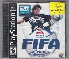 Fifa 2001 (Sony PlayStation PS1, 2000) MLS EA Sports