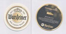 1 WARSTEIN - WARSTEINER  (EXPORT) BIERDECKEL BEERCOASTERS  (19225)