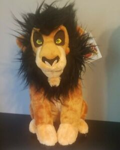 Build A Bear Disney The Lion King Scar Plush w/ Be Prepared Song Sound Chip New