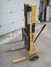 More details for small pallet stacker