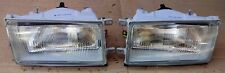 TOYOTA COROLLA EE80 EE82 MODEL 1986 87 FRONT HEADLIGHTS PAIR LH RH AFTERMARKET