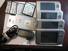 Lot Of 4 Hp iPaq Rx5915 Travel Companion Pda Hstnh-L12C-Wl Music Player Gps Wifi
