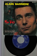 ALAIN BARRIERE-RARE SIGNED 1964 VINTAGE FRENCH 1964  EP-MA VIE- CLASSIC VG+