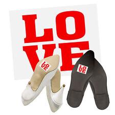 """Schuhsticker """"LOVE"""" 2 Stk. Schuh Sticker Aufkleber Brautschuhe"""
