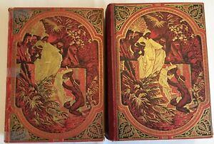 La SACRA BIBBIA di Mons. Martini illustrazioni Dorè - Treves 1931 - 2 Volumi