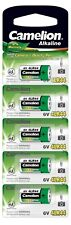 5 x CAMELION 4LR44 ALKALINE 6V BATTERY 476A PX28A A544 With Longest Expiry