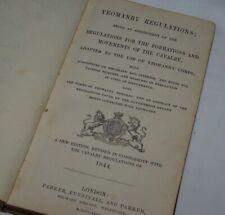 More details for 1844 yeomanry manual cavalry handbook british army rifle gun horse crimean war