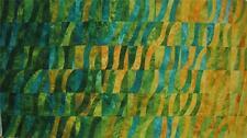 Falling Leaves Gradated Abstract Yellow Green Geometric Northcott Fabric Yard