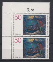 Berlin Mi.Nr 572 postfrisch Paar mit Eckrand