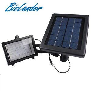 2019 Bizlander 30 ED Outdoor Solar Spot LIGHT FOR HOME GARDEN parth Lillumiation