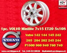 1 Cerchio Volvo  100, 200, 700, 900 7x15 5x108  N.1 Wheel1 Felge Llanta Jante