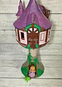Disney Store Tangled Rapunzel Tower Castle Playset + Figures
