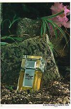 "Publicité Advertising 1980 Parfum ""Tamango"" de Leonard"