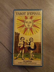 TAROT D ÉPINAL 78 CARTES THE ÉPINAL TAROT CARTOMANCIE NEUF SOUS SCELLO D'ORIGINE